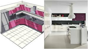 cuisine uip grise comment aménager une cuisine en l quelques astuces de pro et