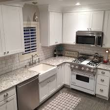 granite countertop white kitchen cabinets gray granite