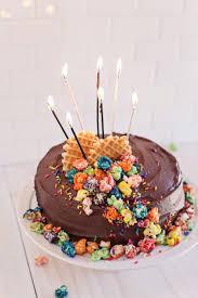 emma u0027s 30th birthday cake on a beautiful mess yellow buttermilk