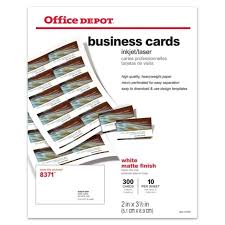 Office Depot Resume Paper Office Depot Business Card Template Best Example Business