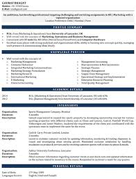 Mba Marketing Resume Sample by Internship Resume Samples Resume For Internship Cv For