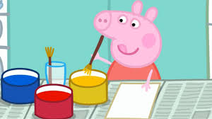 peppa pig painting season 2 episode 29 youtube