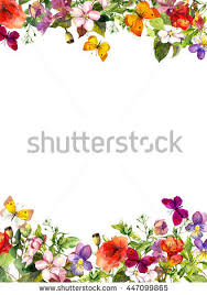 butterfly border stock images royalty free images vectors