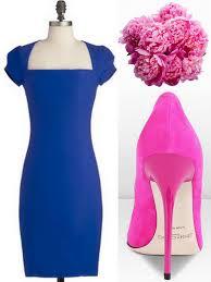 royal blue and cobalt bridesmaid dress ideas
