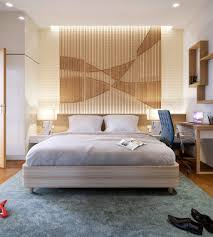 Blue Accent Wall Bedroom by Bedroom Bedroom Accent Wall Slats Intertwined Pattern Accent