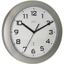 themed clock acctim oceana wall clock white staples