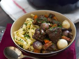 alton brown beef stew how to make the best boeuf bourguignon beef stewed in red wine