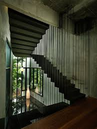 Architectural Stairs Design Interior Stairs Space With Metal Railings Architecture