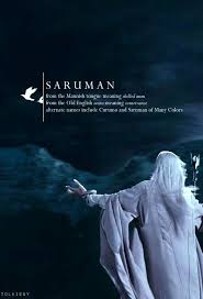 saruman the lord of the rings and the midle earth pinterest