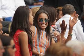 michelle obama does the wave in a tory burch dress racked