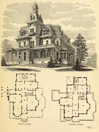 second empire house plans design for a large residence architecture