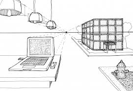 how to draw 1 point perspective pencil art drawing