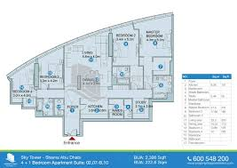 marina blue floor plans sky tower shams abu dhabi al reem island