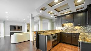 ceiling design integral to a remodeled basement angie u0027s list