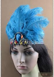 indian feather headband carnival headdress headgear headpieces