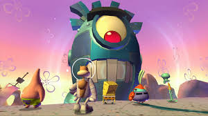 spongebob squarepants plankton u0027s robotic revenge game ps3