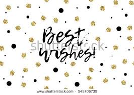 best wishes greeting card free vector stock