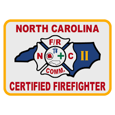 North Carolina travel stickers images North carolina certified firefighter level 2 patch decal the jpg