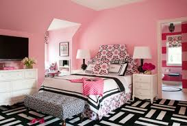 what is the pink paint color on the bedroom walls