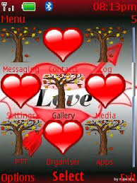 themes java love free download animated love for java app