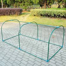Vegetable Garden Netting Frame by Amazon Com Outsunny 01 0468 Portable Backyard Flower Garden