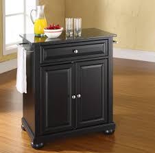 distressed black kitchen island kitchen solid high portable black kitchen island with orange juice