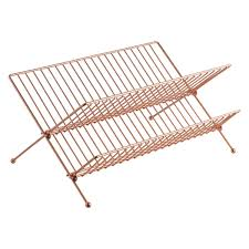 Dish Drainer Alka Copper Finish Dish Drainer Buy Now At Habitat Uk