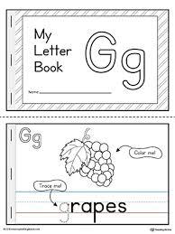 letter g mini book printable letter g mini books and printable