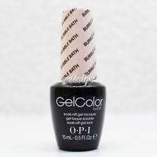 opi gelcolor soak off gel lacquer gcs86 bubble bath ebay