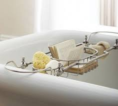 Bathtub Wine And Book Holder Clawfoot Bathtub Caddy Foter