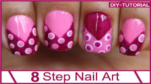 stunning nail art designs step by step at home contemporary
