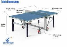 what size is a regulation ping pong table ping pong table sizes home design