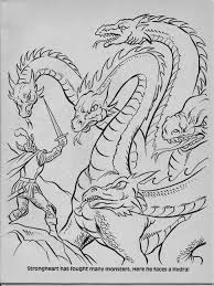 fantastic dragons colouring book google search colouring pages