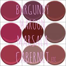 benjamin moore colors crushed velvet dark burgundy dinner party
