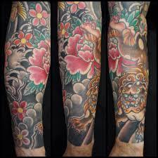 foo dog sleeve u2013 lower arm roddy mclean tattooer