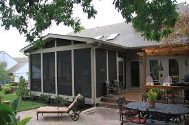Pergola And Decking Designs by Screened Porch With Multi Use Outdoor Living Space Archadeck