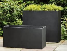 Tall Plastic Planters by Best 25 Rectangular Planters Ideas On Pinterest Rectangular