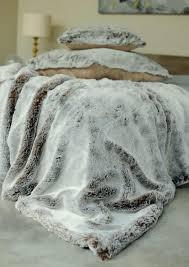 Fake Fur Throws Evelyne Prelonge Chestnut Faux Fur Coverlets U0026 Throws U0026 Decorative