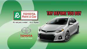 toyota corolla for rent toyota rental car