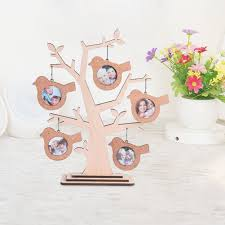 gifts for home decoration giftgarden family tree decoration wood multi 2x2 round picture