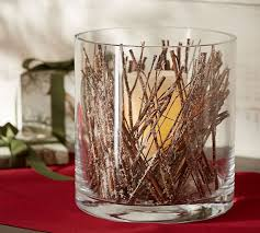 Vase With Twigs Snowy Twigs Vase Filler Pottery Barn
