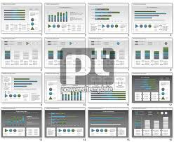 interactive flow chart data driven for powerpoint presentations