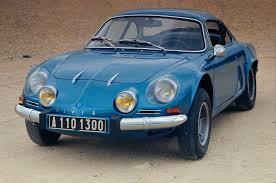 renault alpine 1962 alpine 110 milestones