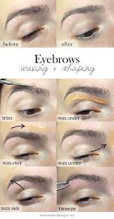 Where To Get Your Eyebrows Threaded Best 25 Eyebrow Wax Ideas On Pinterest Brow Wax Eyebrow Shapes