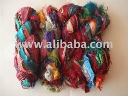 sari silk ribbon recycled sari silk ribbon for knitting craft work buy