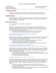 Training Resume Examples by Business Management Resume Example Sample Business Resumes