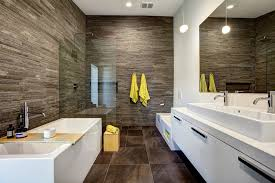 Contemporary Bathroom Suites - his and hers separate bathrooms bathroom contemporary with