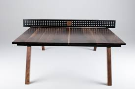 black ping pong table top woolsey ping pong table black walnut sean woolsey