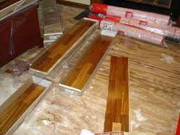 wood flooring over concrete how to install hardwood floors over