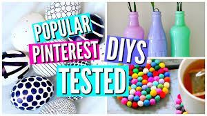 Room Decorations Pinterest by Diy Pinterest Room Decor Tested Youtube